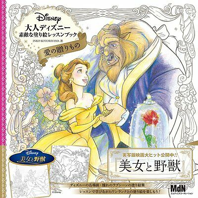 Disney A Gift Of Love Coloring Book For Adults 80pg Malbuch Für Erwachsene