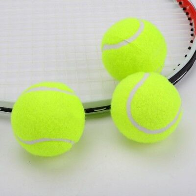 Rubber Tennis Ball 3 PCS High Resilience Durable Practice Professional