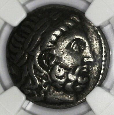 CELTS (DANUBIAN) coin TETRADRACHM 2nd CENTURY BC NGC grade F