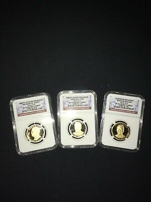2016 presidents set ngc pf70 ultra cameo 3 coin set