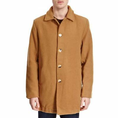 latest fashion enjoy discount price extremely unique AMERICAN APPAREL WOOL Peacoat XS Camel Tan Made USA RSAWN400 Unisex Men  Women