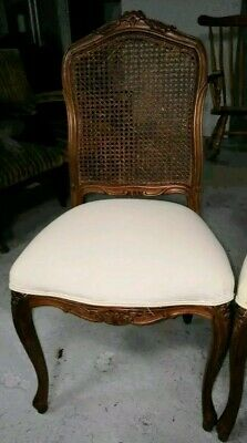 French provincial louis xv chairs antique rattan back event hire weddings beauty