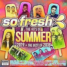 So Fresh: The Hits Of Summer 2019 + The Best Of 2018 2CDS RELEASE 23/11/2018