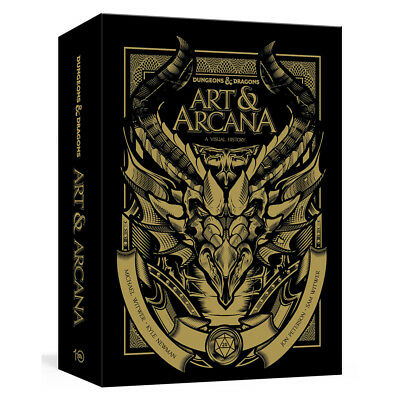 Dungeons & Dragons Art & Arcana A Visual History Special Edition NEW