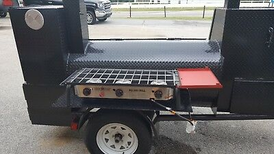 Camp Chef 3 Burners BBQ Smoker Catering Business 36 Grill Mobile Food Cart Truck