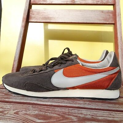 new styles 3bf15 af002 Nike PRE Montreal Waffle Racer 2012 Mesa Orange Mens 14 Running Shoes