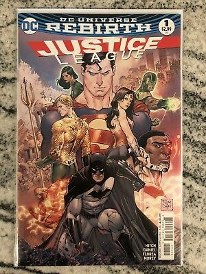 Justice League Rebirth #1-43 Complete Run (2016-2018)