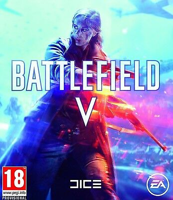 Battlefield 5 PC Italiano Originale - BF V 2018 Battle Field