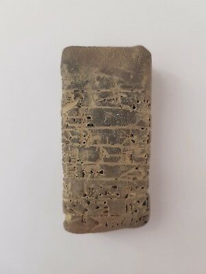 Interesting old cuneiform clay tablet