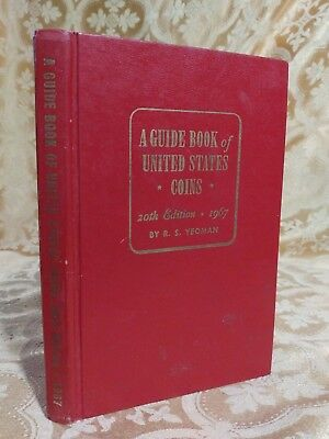 1967 Guide Book of United States Coins Red Book US Currency Catalog & Price List