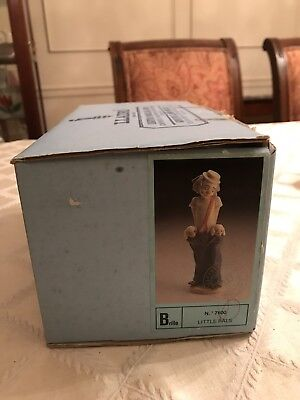 LLADRO EMPTY BOX ONLY for #7600 LITTLE PALS Retired Figurine clown EMPTY BOX