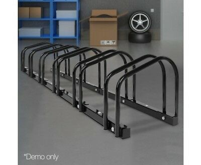 Bike Rack Stand Bicycle Floor Parking Instant Storage Cycling Portable 1 – 6 BK