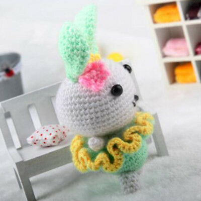 Amigurumi Crochet Kits Diy Knitting Craft Mouse Stuffed Toy For Kids