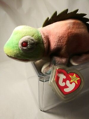 Ty Beanie Babies rare retired with tag ERRORS Rainbow PVC 1st Edition Best Gift!