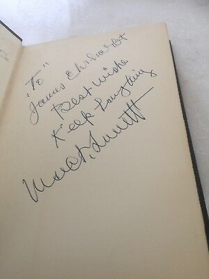 """MACK SENNETT """"THE KING OF COMEDY"""" INSCRIBED 1st EDITION VERY NICE CONDITION!!"""