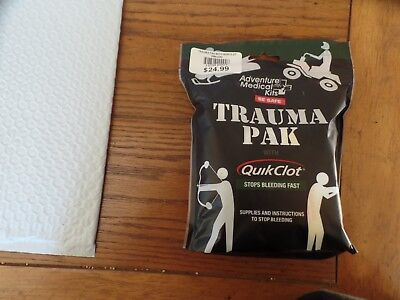 Adventure Medical Kits Trauma Pak with QuickClot NEW!  EXP-8/2019