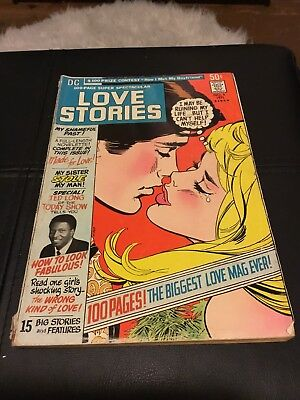 DC 100 Page Super Spectacular #5 Love Stories RARE G/VG 3.0 condition
