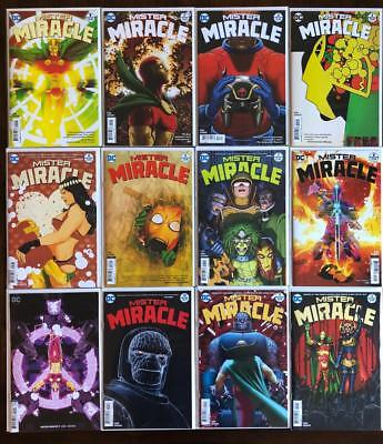 Mister Miracle (2018) # 1 2 3 4 5 6 7 8 9 10 11 12 Dc Tom King Complete Set Nm+
