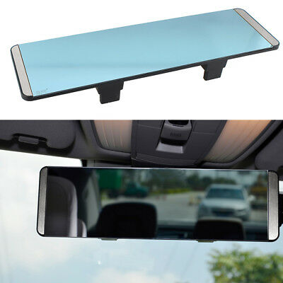 1x Universal 3R Car Truck Interior Rear View Flat Wide Mirror Rectangle Mirrors