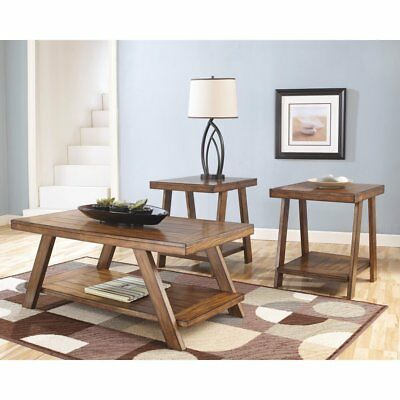 Signature Design By Ashley Bradley Brown Occasional Table - Set of 3