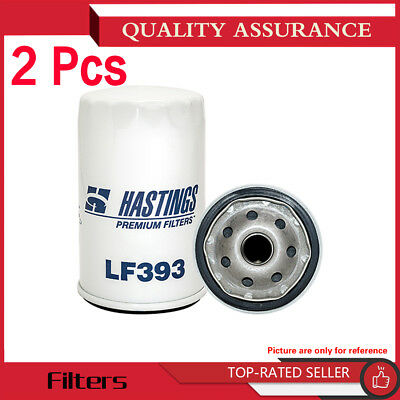 Hastings Filters-2PCS Engine Oil Filter For 96 BUICK COMMERCIAL CHASSIS V8 5.7L