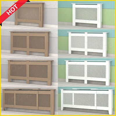 L/XL/XXL/Adjustable Painted/Unpainted Radiator Cover Cabinet Modern MDF