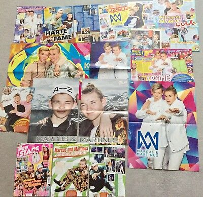 Marcus & Martinus ❤️ Sammlung  ❤️ Poster / Lot / Clippings