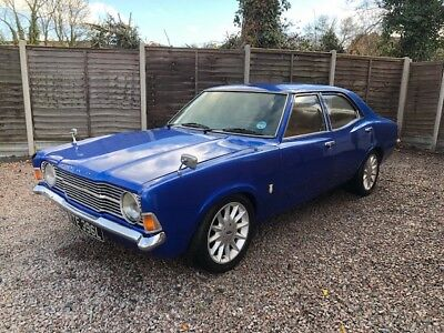 Ford Cortina 1.6 1972 Mk3 4 Door Runs And Drives Needs Some Tlc Xx Relisted Xx