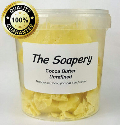 Cocoa Butter 500g - Unrefined - 100% Natural and Pure