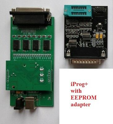 iProg+ Programmer with EEPROM adapter and iProg PRO software EU
