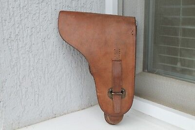 Rare Original WW2 WWII German Luger P08 Army  Holster
