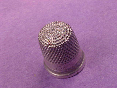 Sterling Silver 8 Thimble