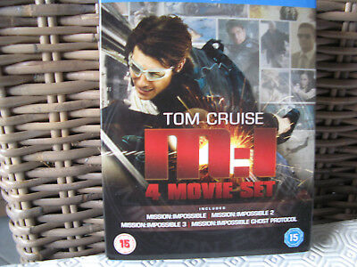 tom cruise mission impossible incluant 4 blu-ray neuf sous blister