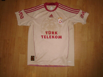 Galatasary away shirt for 15-16 years/small adult, adidas, VGC, UK FREEPOST!