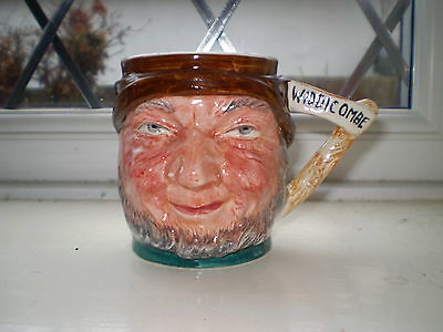Lancaster Sandland Pottery Character Jug - Uncle Tom Cobleigh - Made in England