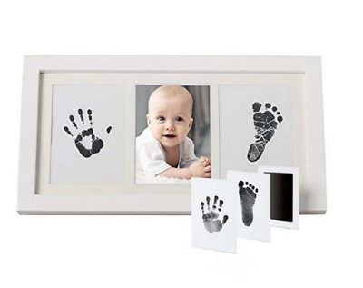 UK Baby Hand and Foot Print Kit 2D&3D Photo Frame Newborn Unique Keepsake Gifts
