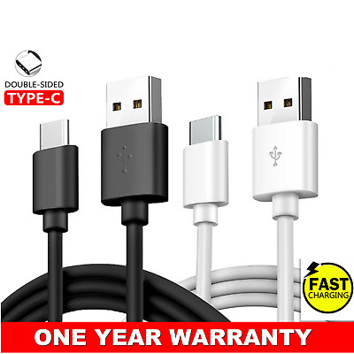 Type-C USB-C 3.1 Male Data Snyc FAST Charger Charging Cable for Samsung S9+ S8