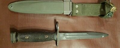 USGI M7 Bayonet Imperial w/M8A1 scabbard marked PWH.