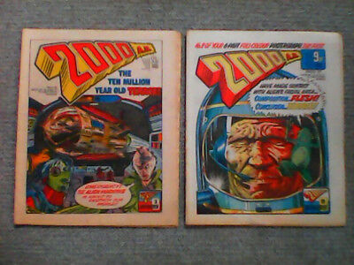 2000ad prog 21 and 27 very good condition +