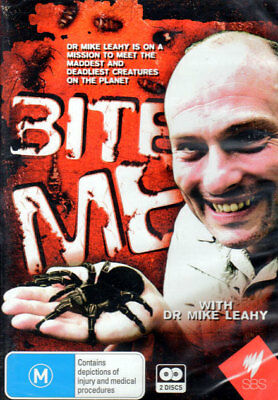 Bite Me! With Dr Mike Leahy - New Sealed 2 DVD Set