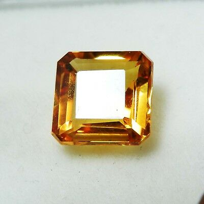 2.85 Ct Natural Certified Emerald Cut Ceylon Blue-color yellow Loose Gemstone A