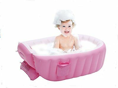 Inflatable Baby Bathtub, Kid Infant Toddler Infant Newborn Inflatable Foldable S
