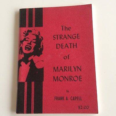 The Strange Death of Marilyn Monroe by Frank A. Capell 1964 Book JFK Files News