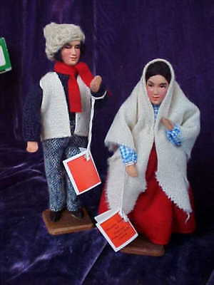 Beautiful Vintage Pair of Dolls from Ireland by Jay Ethnic Souvenir Dolls
