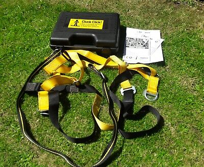 Ridgegear Rg2 2 Point Safety Climbing Harness With Rgl12 Lanyard And Case