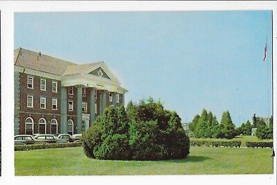 Vintage Postcard of The C. & O. Railroad Station in Huntington, Wet Virginia