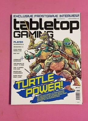 Tabletop Gaming Magazine Issue 5 #5 Board Game Roleplaying Roleplay Rpg Euro