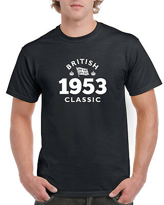 65th Birthday Gift Present Idea For Boys Dad Him 1953 Men T Shirt 65 Tee Shirts