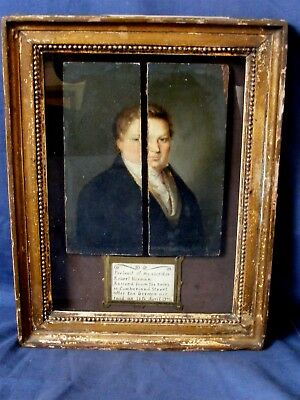 Weird Haunting Portrait, Regency Gentleman, Blitz Air Raid