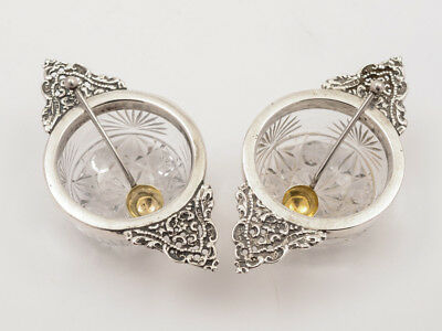 Pair of Victorian Silver Salts, Birmingham 1895